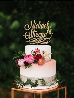 Personalise topper with name and date, Cake topper with two names, Name date wedding topper, Engagement cake topper, Cake topper couple name Mr Mrs Cake Toppers, Letter Cake Toppers, Monogram Cake Toppers, Rustic Cake Toppers, Gold Cake Topper, Unique Cake Toppers, Personalized Cake Toppers, Engagement Cake Toppers, Engagement Cakes