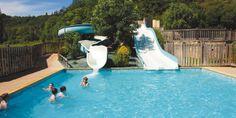 Camping Le Moulin de Paulhiac - Zwembad met glijbanen