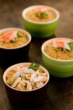 Paula Deen: The Best Crab Casserole #recipe #seafood