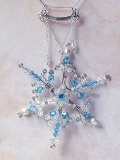Stars and Snowflakes Free Beading Patterns