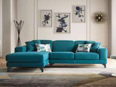 Canapea coltar Harvey pentru living, sufragerie, cu design modern rafinat si elegant, disponibil la comanda in diverse configuratii, tapitat cu stofa .