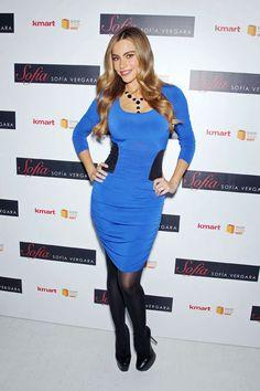 SOFÍA VERGARA  La actriz colombiana convocó a la prensa en Nueva York para presentar su nueva colección de otoño para Kmart. Para este encue...