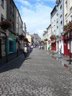 Waterford, Ireland - city street