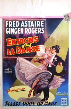 The Barkleys of Broadway - French film poster