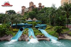 Sunway Lagoon - photographed, reviewed and rated by The Theme Park Guy