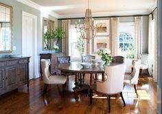 www.kristinpeakeinteriors.com  dining room we just installed interior in Potomac, Maryland