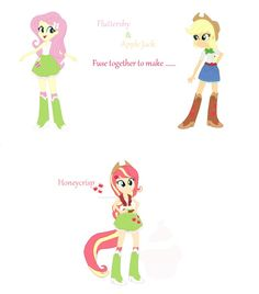 This fusion is STEVEN UNIVERSE style! In Steven Universe when two gems fuse together, they are given extra body parts. In this case when I fuse two or more MLP characters, I will give them extra bo...