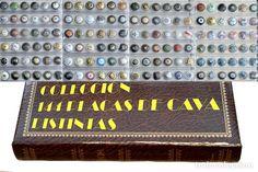 LOTE COLECCIÓN DE 144 PLACAS DE CAVA TODAS DISTINTAS PLACA EN HOJAS Y ALBUM VER FOTOGRAFIAS
