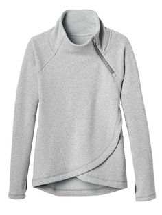 Cozy Karma Pullover (Athleta) - comfy and gray - two things I like in clothing right now.
