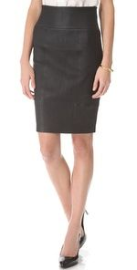 Rachel Zoe - Brie Leather Pencil Skirt ($795)