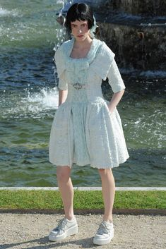 Chanel Resort 2013 Fashion Show - Sojourner Morrell (MARILYN)