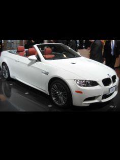 White BMW convertible M3!!!!!!