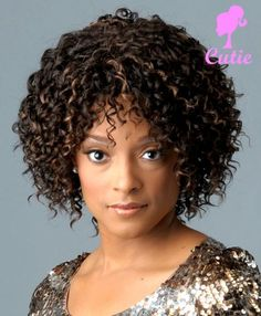 naturally curly bobs for black women | 15 Appealing Curly Hair Bob Hairstyles For Black Women