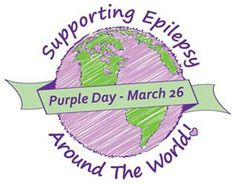 My son has epilepsy and March 26th is Epilepsy Awareness Day. Please wear purple to help raise awareness about this neurological disorder!