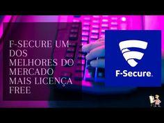 F-secure um dos melhores do mercado mais licença free Youtubers, F Secure, Marketing, Free, Make Money On Internet