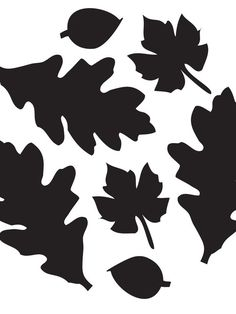 Leaves Pumpkin Carving Template >> http://www.diynetwork.com/decorating/24-halloween-pumpkin-carving-templates/pictures/index.html?soc=pinterest
