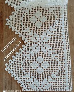 Crochet Edging Patterns, Crochet Bedspread, Note 9, Chrochet, Filet Crochet, Projects To Try, Cross Stitch, Knitting, Aso