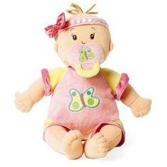 doll for her first pram - Love Baby Stella http://bestcheapbabystuff.com/dolls/the-baby-stella-dolls/