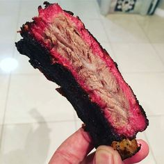 Holy smoke ring batman! Pic and beef rib courtesy of @bbq.foodie -  Baby got back! Hot and fast beef back ribs are the bomb! I thought I'd be a bit lazy today and smash the ribs out hot and fast.. I couldn't even be bothered taking the membrane off and that made for some crisp nom moms and turned out to be the best bit! . . . #australia #bbq #beef #barbecue #bbqporn #perth #keto #lowcarb #paleo #yummy #yum #ribs #yoder #whyiyoder #yodernation #Food #Foodie #FoodPhotography #Foodstagram…