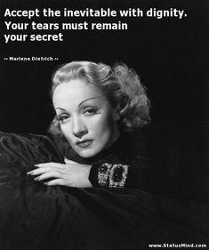 Marlene Dietrich Quotes. QuotesGram