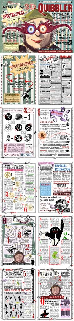 Quibbler Spectrespecs Replica Version with pages. by jhadha.deviantart.com on @DeviantArt
