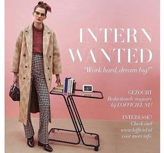 L'OFFICIEL NL is looking for you!  Do you want to work together with our super fun team as our new editorial intern? Go to our website for more info!  www.lofficiel.nl #lofficielnl #ediorial #intern  by Nick Hudson  via L'OFFICIEL NL MAGAZINE INSTAGRAM - Fashion Campaigns  Haute Couture  Advertising  Editorial Photography  Magazine Cover Designs  Supermodels  Runway Models