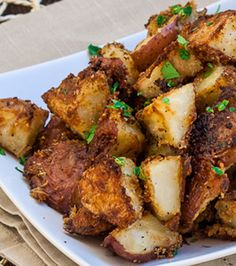 Italian Parmesan Roasted Potatoes