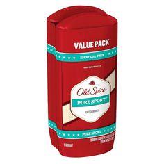 Old Spice High Endurance Pure Sport Deodorant Twin - 6 oz