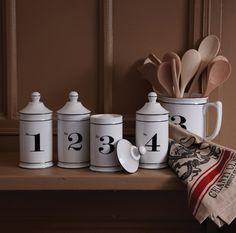 Numerology Numbered Jars