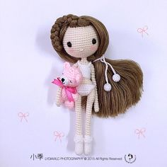 ♡ amigurumi #amigurumidoll #crochet #crochetdoll #crochetgarland #yarn #knitting #crochetting #craft #amigurumicrochet #amigurumipattern #crochetmini #crochetpattern #crochetjapan