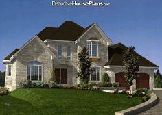 House Plan #159947 - Le Lafite - Distinctive House Plans