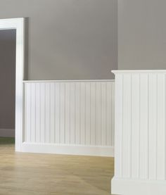 colonial wainscoting ideas | Wainscot Caps & Federal Panel Molding by…