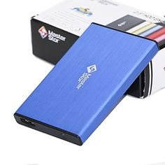 Introducing MasterStor 1 Year Warranty 500GB Portable Hard Drive USB 30 SATA SuperFast 25 inch Hard Drive for Leptop External Hard Disk Drive Blue. It is a great product and follow us for more updates!