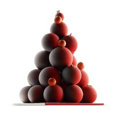 LE SAPIN DE NOËL [100% dark chocolate balls dusted with cocoa] | Pierre Marcolini