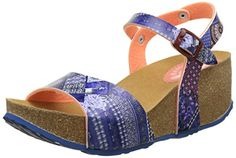 445a77a57 Desigual Women s Bio7 Denim Patch Heels Sandals  Amazon.co.uk  Shoes   Bags