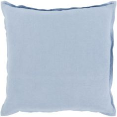 "House of Hampton Windsor Throw Pillow Cover Size: 20"" H x 20"" W x 0.25"" D, Color: Medium Gray"