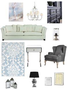 Inspiracje dla pięknego domu: kolaż konkursowy z produktami ze sklepu Decolor.pl; autor: Martyna Brzezińska-Szwal