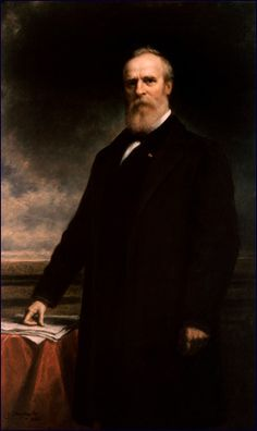 Rutherford Birchard Hayes(October 4, 1822 - January 17, 1893) Born in Delaware, Ohio. 19th President of the United States In office March 4, 1877 – March 4, 1881. Officer in the Union Army, Civil War. Wounded 5 times, most seriously at the Battle of South Mountain. Known for bravery, he attained the rank of major general.