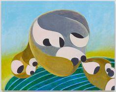 """Thomas Nozkowski, """"Untitled (9 – 25) (Sam's Point)"""" (2012)"""