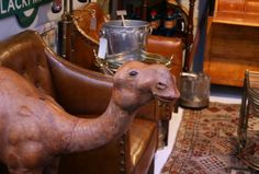This beautiful 1920s Liberty's Camel is at The Decorative Antiques Fair Stand F3 InteriorBoutiques.com #Camel #Antiques #Events #London
