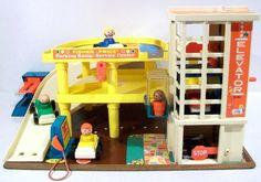 parking garage. definitely had this!