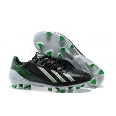 9691f2068 Lionel Messi Adidas F50 Adizero TRX FG SYN TPU Crampons Noir Vert Blanc  Nike Shoes