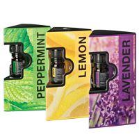 De Forever Tri-Pack bevat 5 ml sample flesjes van alle drie de single notes: Lemon, Peppermint en Lavender. Ervaar het beste dat de natuur te bieden heeft en ontdek uw favorieten.