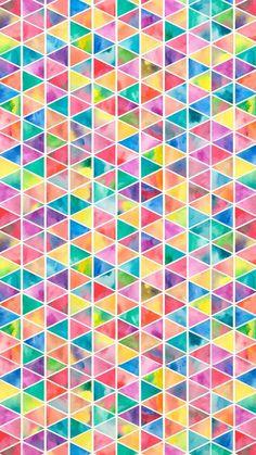 Rainbow Triangle Wallpaper