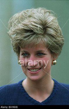 PRINCESS DIANA PRINCESS OF WALES 06 March 1991:
