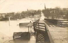 1907 Flood in Carrollton, Kentucky Carroll County, My Old Kentucky Home, Paris Skyline, Maine, History, Travel, Outdoor, Google Search, Outdoors