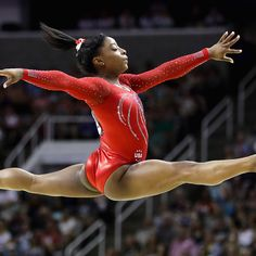 What makes Simone Biles unlikes any other gymnast in the world? Biles, her family, and her coaches explain. | Health.com