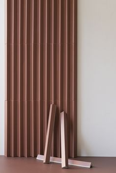 Buy online Rombini triangle red By mutina, porcelain stoneware wall cladding design Ronan & Erwan Bouroullec, rombini Collection Interior Walls, Home Interior Design, Interior Decorating, Design Interiors, Wall Cladding Designs, Wall Finishes, Wall Treatments, Commercial Design, 3d Wall