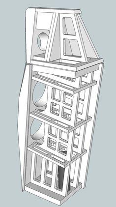 Speaker skeleton