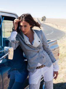 burda style: Damen - Jacken - Kurzjacken - Jacke - Stehkragen